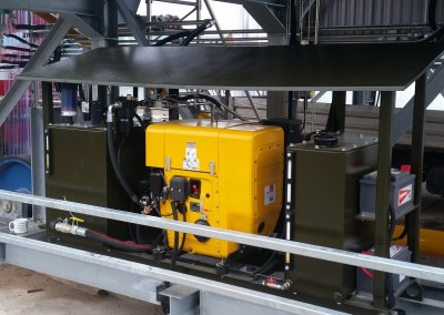 Hydraulic Power Unit complete with cooler