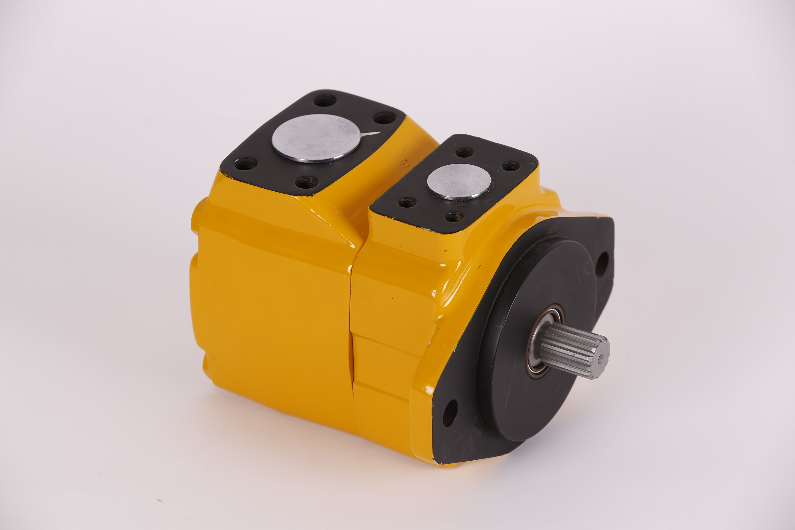 yellow b&c vane pumps